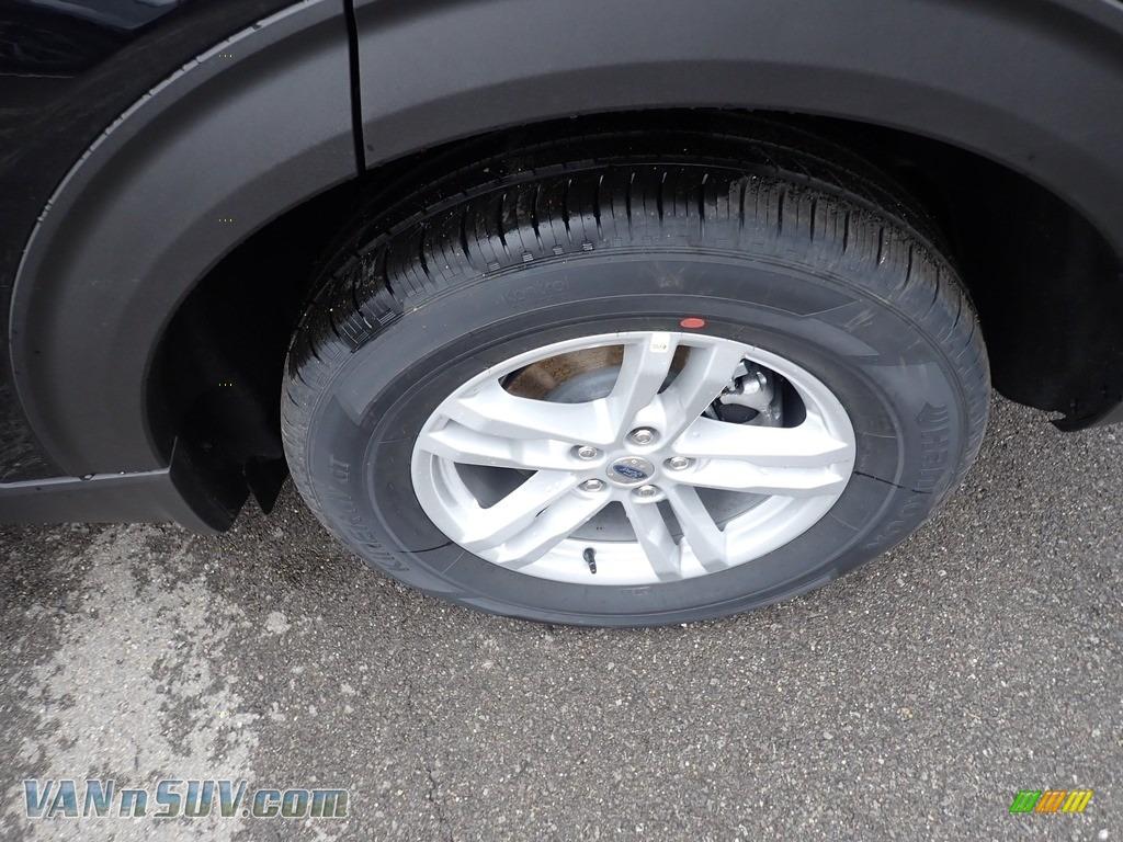 2020 Explorer XLT 4WD - Agate Black Metallic / Ebony photo #7
