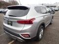 Hyundai Santa Fe SE AWD Shimmering Silver Pearl photo #2