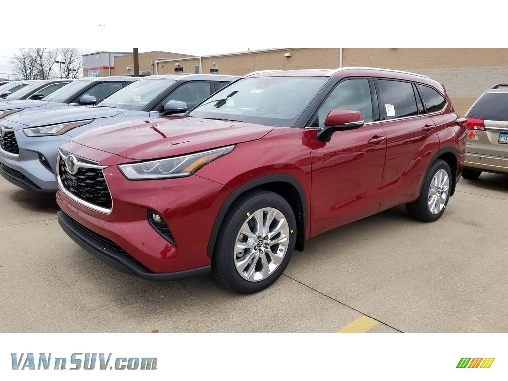 2020 Highlander Limited AWD - Ruby Flare Pearl / Graphite photo #1