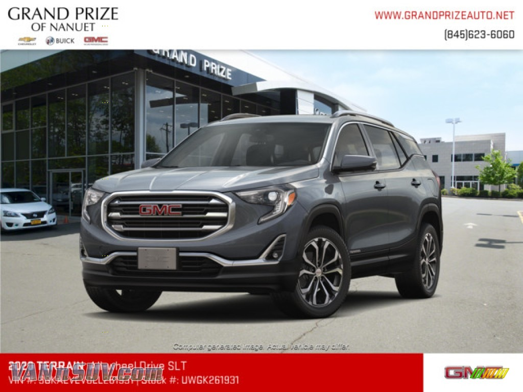 2020 Terrain SLT AWD - Graphite Gray Metallic / Jet Black photo #1