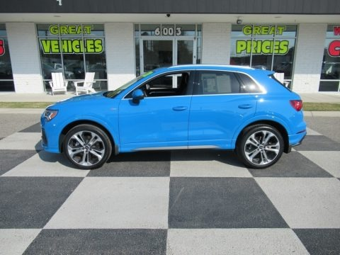 Turbo Blue 2020 Audi Q3 Premium Plus quattro