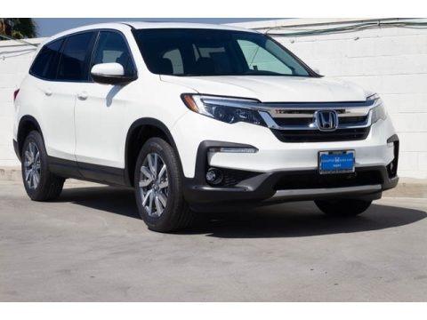 Platinum White Pearl 2020 Honda Pilot EX-L