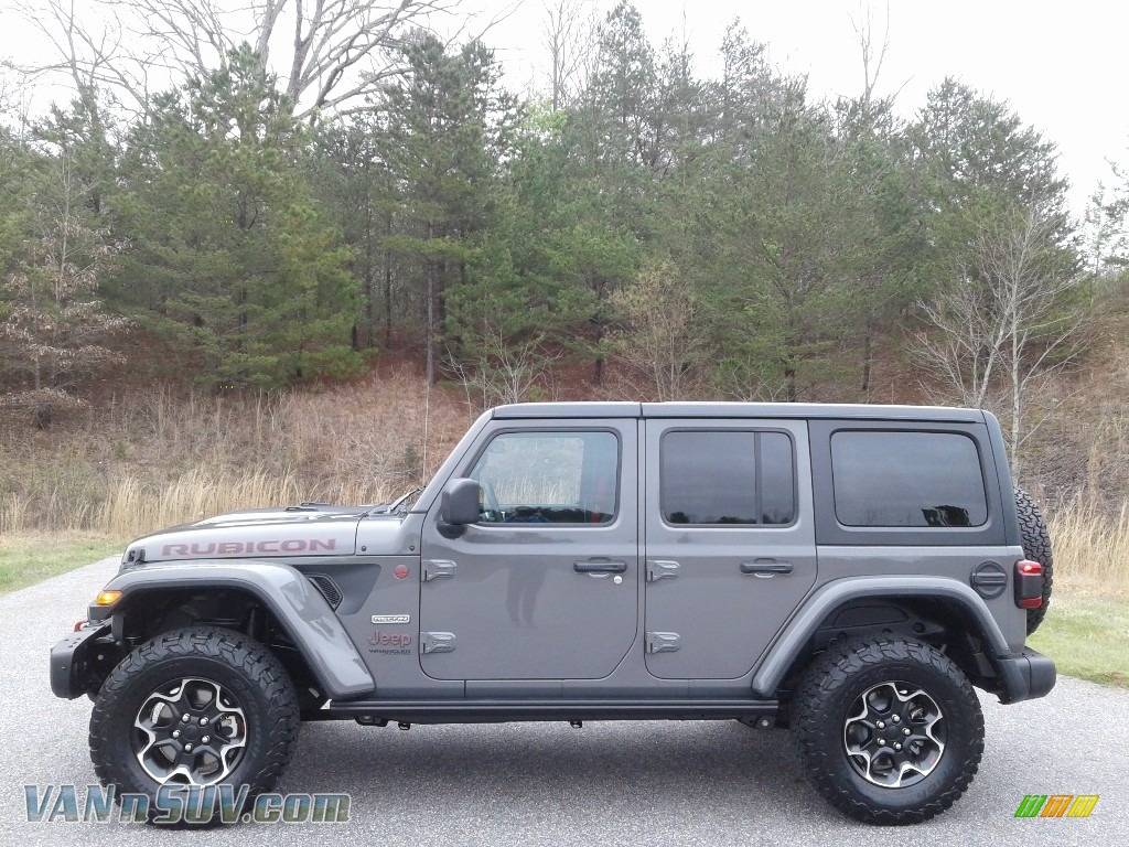 Sting-Gray / Black Jeep Wrangler Unlimited Rubicon 4x4