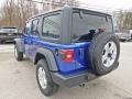 Jeep Wrangler Unlimited Sport 4x4 Ocean Blue Metallic photo #7
