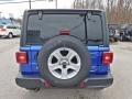 Jeep Wrangler Unlimited Sport 4x4 Ocean Blue Metallic photo #8