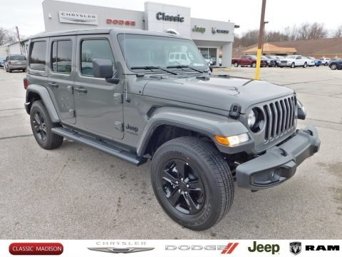 Sting-Gray 2020 Jeep Wrangler Unlimited Sahara 4x4