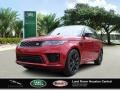 Land Rover Range Rover Sport HST Firenze Red Metallic photo #1
