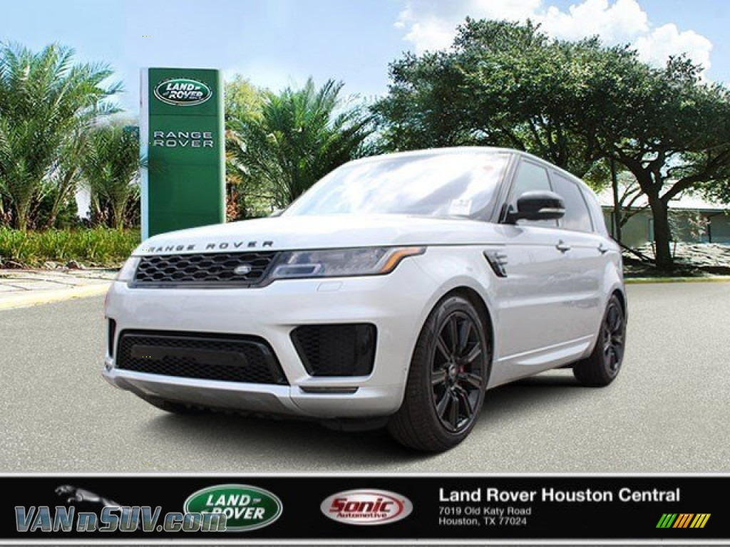 2020 Range Rover Sport HST - Indus Silver Metallic / Ebony/Ebony photo #1