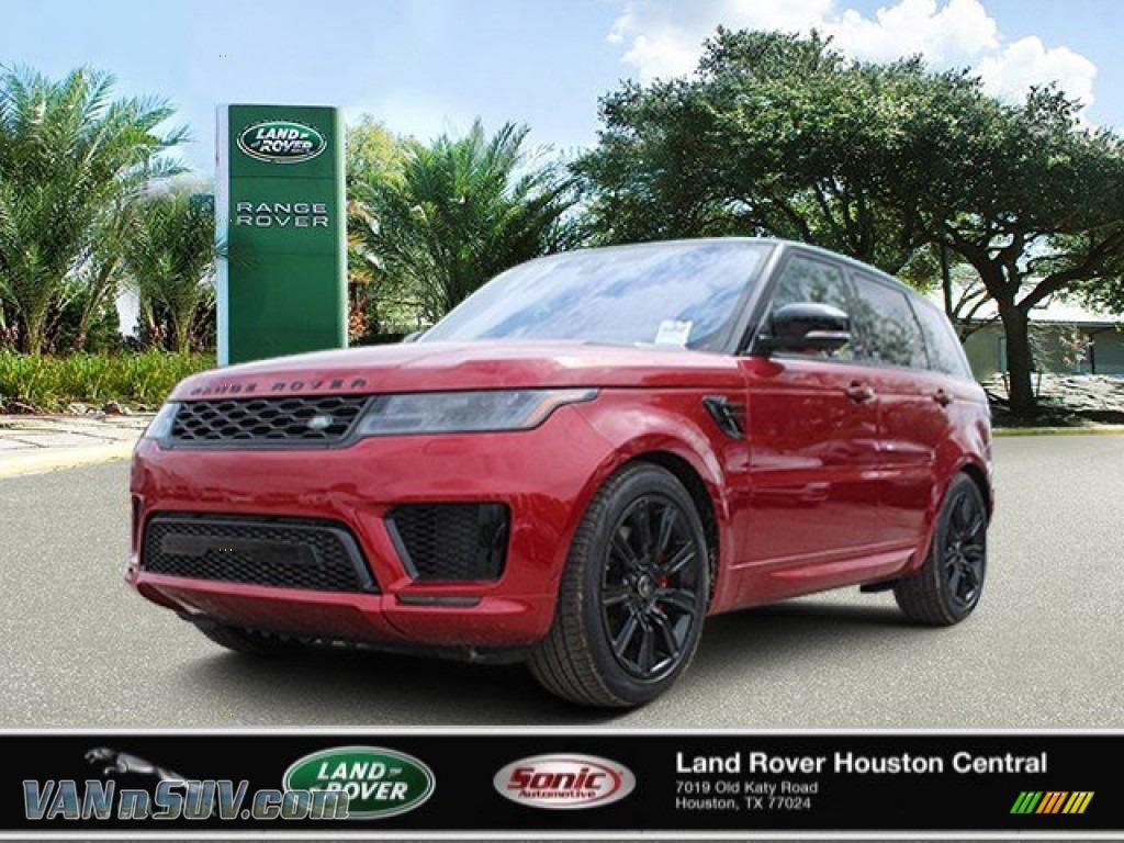 2020 Range Rover Sport HST - Firenze Red Metallic / Ebony/Ebony photo #1