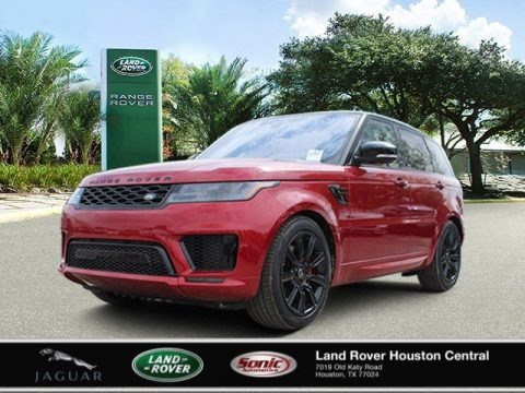 Firenze Red Metallic 2020 Land Rover Range Rover Sport HST