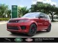 Land Rover Range Rover Sport HST Firenze Red Metallic photo #1