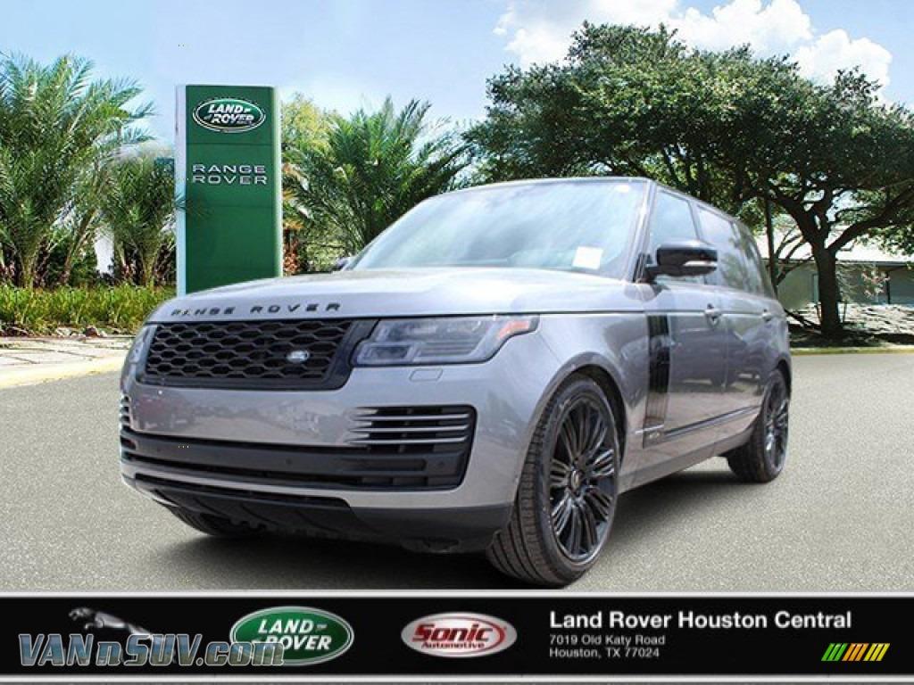 2020 Range Rover Supercharged LWB - Eiger Gray Metallic / Ebony photo #1