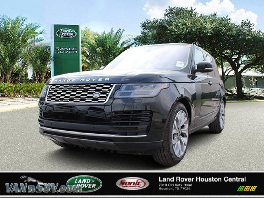 2020 Range Rover HSE - Santorini Black Metallic / Ebony photo #1