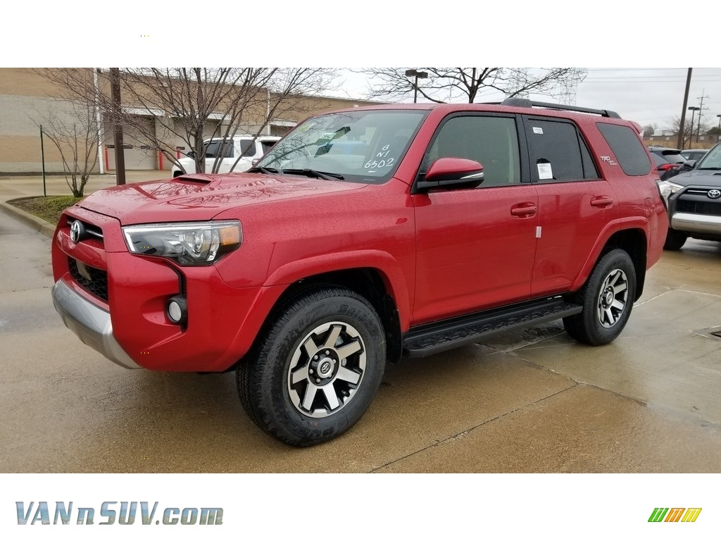 2020 4Runner TRD Off-Road Premium 4x4 - Barcelona Red Metallic / Black photo #1