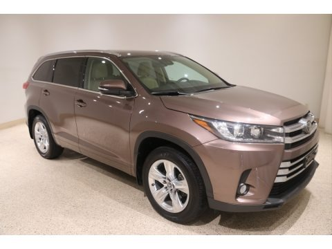 Toasted Walnut Pearl 2018 Toyota Highlander Limited AWD
