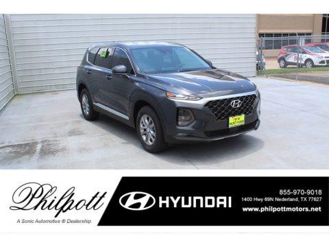 Portofino Gray 2020 Hyundai Santa Fe SEL