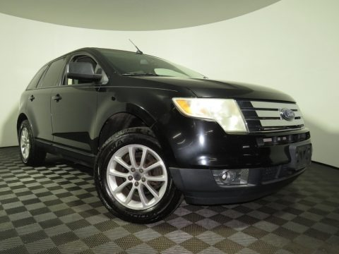 Black 2007 Ford Edge SEL
