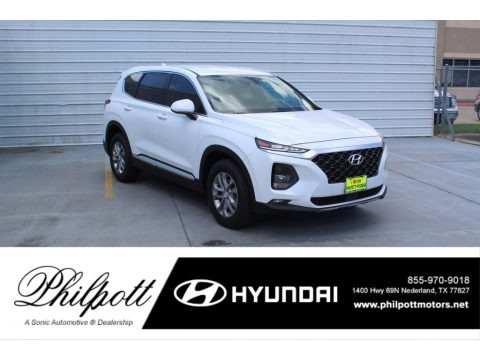 Quartz White 2020 Hyundai Santa Fe SEL