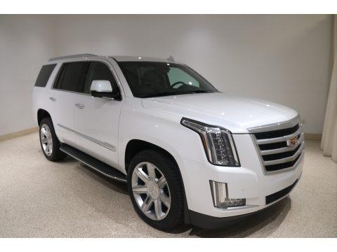 Crystal White Tricoat 2016 Cadillac Escalade Luxury 4WD