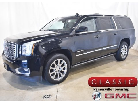 Onyx Black 2015 GMC Yukon XL Denali 4WD