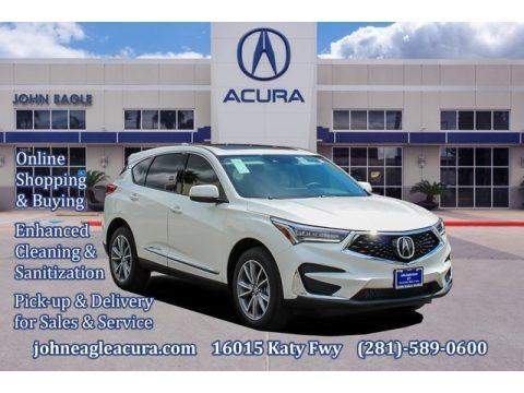 Platinum White Pearl 2020 Acura RDX Technology
