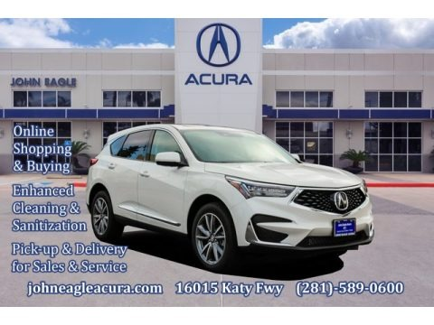 Platinum White Pearl 2020 Acura RDX Technology AWD