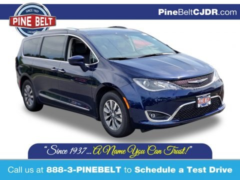 Jazz Blue Pearl 2020 Chrysler Pacifica Touring L Plus