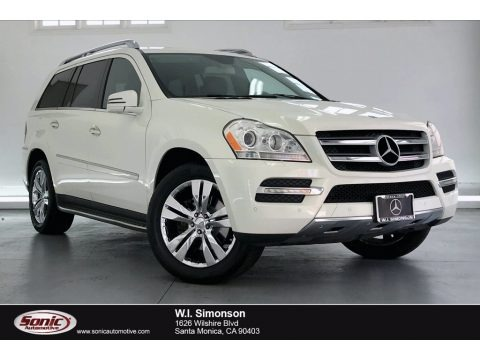 Arctic White 2012 Mercedes-Benz GL 450 4Matic