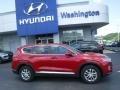 Hyundai Santa Fe SE AWD Scarlet Red photo #2
