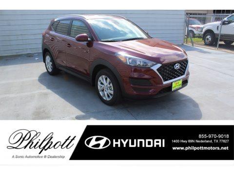 Gemstone Red 2020 Hyundai Tucson Value