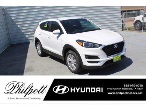 Cream White Pearl 2020 Hyundai Tucson Value
