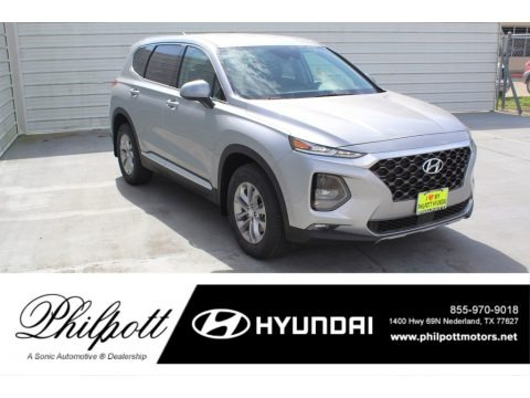 Shimmering Silver Pearl 2020 Hyundai Santa Fe SEL