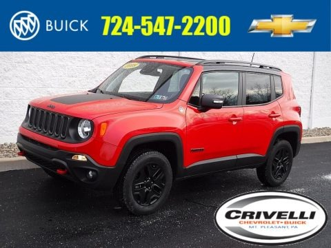 Colorado Red 2018 Jeep Renegade Trailhawk 4x4