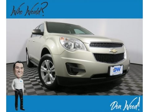 Champagne Silver Metallic 2015 Chevrolet Equinox LS AWD