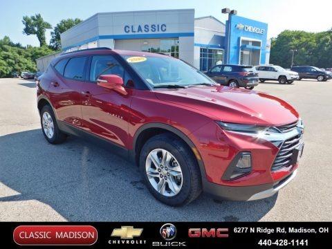Cajun Red Tintcoat 2020 Chevrolet Blazer LT AWD