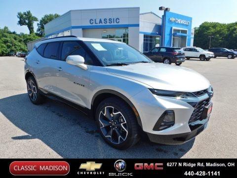 Silver Ice Metallic 2020 Chevrolet Blazer RS AWD