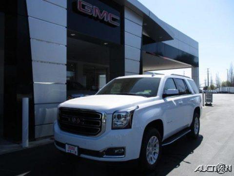 Summit White 2020 GMC Yukon SLT 4WD