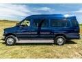 Ford E Series Van E350 XL Extended Passenger Dark Blue Pearl Metallic photo #13