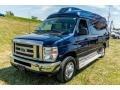 Ford E Series Van E350 XL Extended Passenger Dark Blue Pearl Metallic photo #14