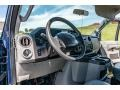 Ford E Series Van E350 XL Extended Passenger Dark Blue Pearl Metallic photo #24