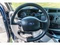 Ford E Series Van E350 XL Extended Passenger Dark Blue Pearl Metallic photo #37