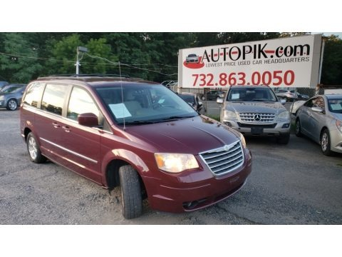 Inferno Red Crystal Pearl 2009 Chrysler Town & Country Touring