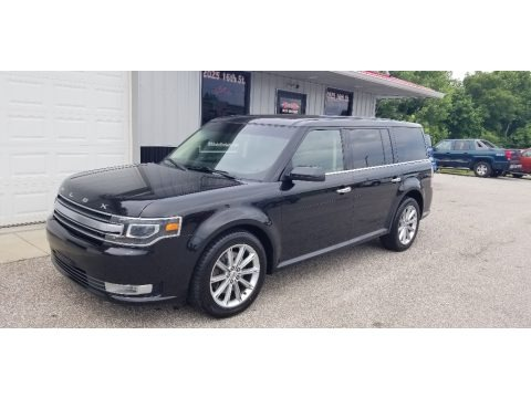 Tuxedo Black 2014 Ford Flex Limited