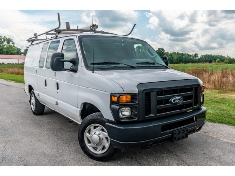Oxford White 2012 Ford E Series Van E150 Cargo