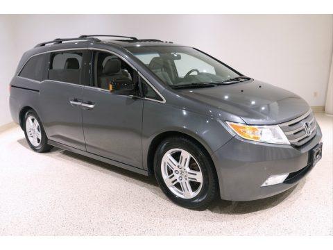 Polished Metal Metallic 2012 Honda Odyssey Touring