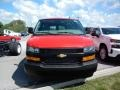 Chevrolet Express 2500 Cargo WT Red Hot photo #2