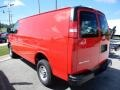 Chevrolet Express 2500 Cargo WT Red Hot photo #5