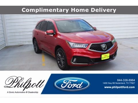 Performance Red Pearl 2020 Acura MDX A Spec AWD