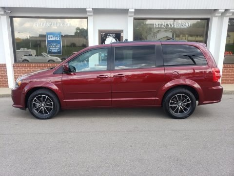 Octane Red 2017 Dodge Grand Caravan GT