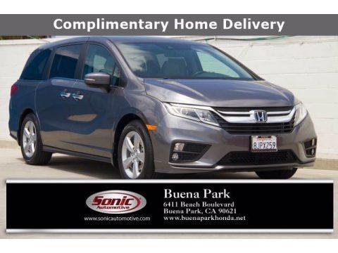 Pacific Pewter Metallic 2019 Honda Odyssey EX-L